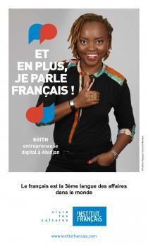 Edith, Abidjan / Francophonie / Institut Français