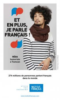Reda, Humoriste / Francophonie / institut Français