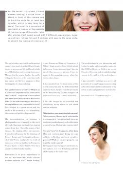 Interview page 2, LIEN MAG, Singapore