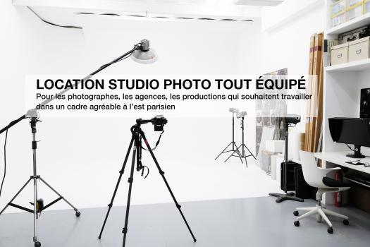 LOCATION STUDIO PHOTO PARIS LES LILAS