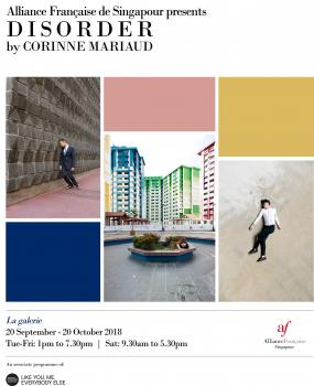 EXPOSITION ALLIANCE FRANÇAISE DE SINGAPOUR 2018