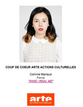 "Award ""ARTE Action Culturelles"" May 2017, Les Boutographies Photogaphy Festival, France"